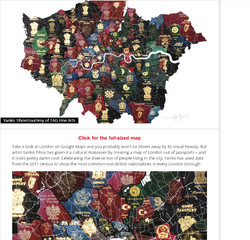 Time Out - London Passport Map