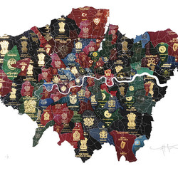 London Passport Map