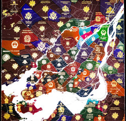 Montreal Passport Map